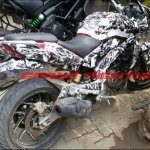 Bajaj Pulsar CS400 spy shot
