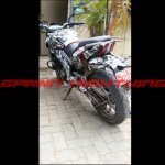Bajaj Pulsar CS400 test mule