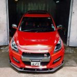 Custom Maruti Swift Nissan GT-R body kit headlamp, grille, bumper