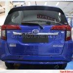 Daihatsu Sigra (rebadged Toyota Calya) rear photographed