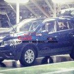Maruti Suzuki S-Cross facelift leaked production