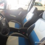 Mitsubishi Colt Plus Bon Voyage edition front seats