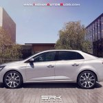 Next-gen Renault Fluence (Renault Megane sedan) Rendering