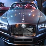 Rolls Royce Dawn front launched in India