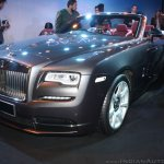Rolls Royce Dawn front three quarterlaunched in India