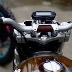 Royal Enfield Dirty Duck cluster