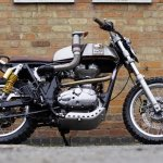 Royal Enfield Dirty Duck side