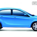 Tata X451 premium hatchback rendering