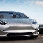Tesla Model 3 prototype front