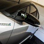 Toyota C-HR HYBRID badge at 2016 Goodwood Festival of Speed