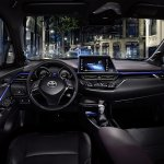 Toyota C-HR compact SUV's interior revealed