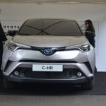 Toyota C-HR front at 2016 Goodwood Festival of Speed second image
