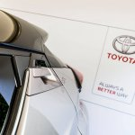Toyota C-HR rear door handle at 2016 Goodwood Festival of Speed