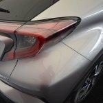 Toyota C-HR rear quarter panel at 2016 Goodwood Festival of Speed