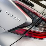 Toyota C-HR tail lamp at 2016 Goodwood Festival of Speed