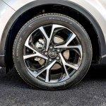 Toyota C-HR wheel at 2016 Goodwood Festival of Speed