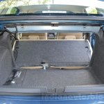 VW Ameo 1.2 Petrol boot with seat folded Review