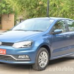 VW Ameo 1.2 Petrol front quarter Review