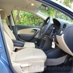 VW Ameo 1.2 Petrol front seats Review