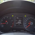 VW Ameo 1.2 Petrol instrument cluster Review