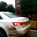 2016 Audi A4 spied India