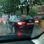 2016 Audi A4 spy shot India