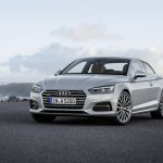 2016 Audi A5 Coupe front three quarters