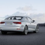 2016 Audi A5 Coupe rear three quarters