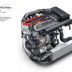 2016 Audi RS3 Sportback 2.5 TFSI engine