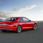 2016 Audi S5 Coupe rear three quarters