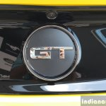 2016 Ford Mustang GT in India GT badge First Drive Review