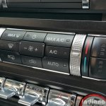 2016 Ford Mustang GT in India HVAC controls First Drive Review