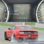 2016 Ford Mustang GT in India Line Lock First Drive Review
