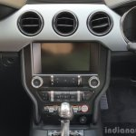 2016 Ford Mustang GT in India center console First Drive Review