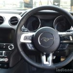 2016 Ford Mustang GT in India driver area First Drive Review