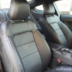 2016 Ford Mustang GT in India seats First Drive Review
