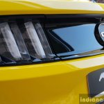 2016 Ford Mustang GT in India taillamp First Drive Review