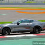 2016 Ford Mustang GT in India wheel side grey First Drive Review