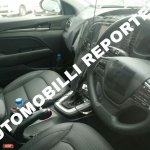 2016 Hyundai Elantra interior spy shot