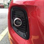 2016 Kia Picanto (facelift) fog lamp Malaysia spy shot