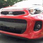 2016 Kia Picanto (facelift) front fascia Malaysia spy shot