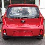 2016 Kia Picanto (facelift) rear Malaysia spy shot