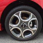 2016 Kia Picanto (facelift) wheel Malaysia spy shot