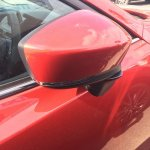 2016 Mazda Axela (Mazda3) door mirror spy shot