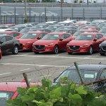 2016 Mazda Axela (Mazda3) factory spyshot
