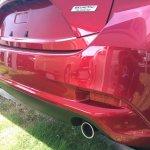 2016 Mazda Axela (Mazda3) rear bumper spy shot