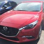 2016 Mazda Axela (Mazda3) spyshot