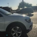 2016 VW Tiguan LWB spy shot USA