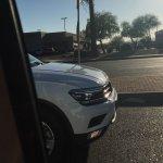 2016 VW Tiguan LWB spyshot USA