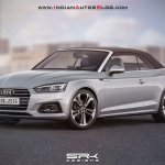 2017 Audi A5 Cabriolet front three quarters rendering